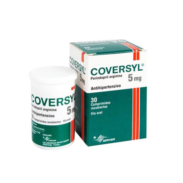 Coversyl 5mg Lọ 30 Viên - Thuốc Điều Trị Huyết Áp Cao