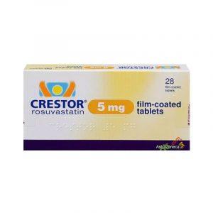 Crestor 5mg Hộp 28 Viên - Điều Trị Tăng Cholesterol Máu