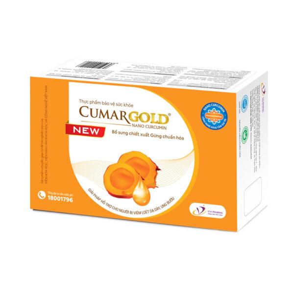 Curcumin Cumar Gold Hộp 3 Vỉ - Tinh Nghệ Nano
