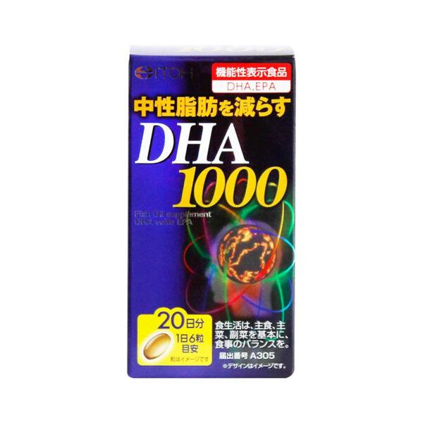 DHA 1000 - viên uống bổ não