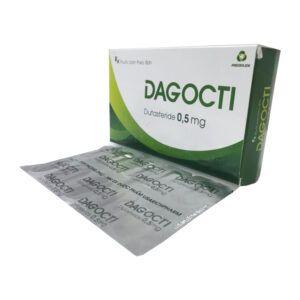 Thuốc Dagocti - Hộp 30 Viên - Điều Trị Phì Đại Tuyến Tiền Liệt