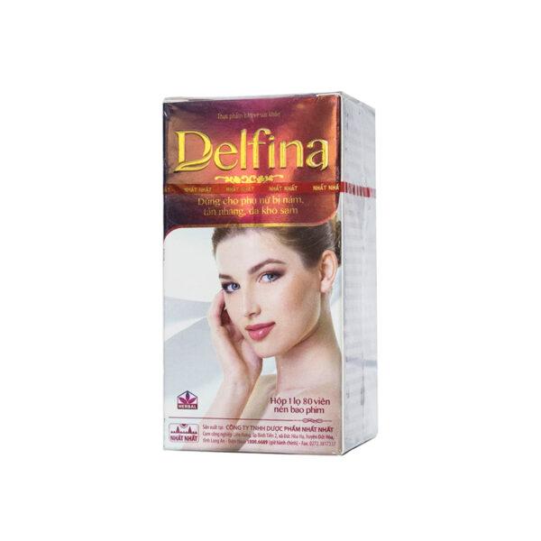 Delfina Dược Nhất Nhất 80 Viên - Viên Uống Trị Nám