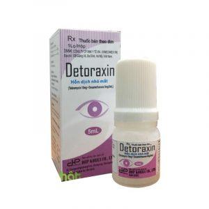 Detoraxin Lọ 5ml - Điều Trị Viêm Ở Mắt