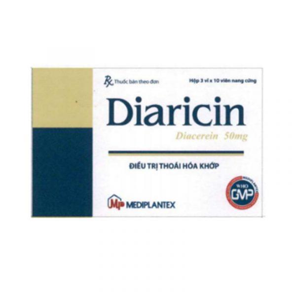 Diaricin Hộp 30 Viên - Điều Trị Thoái Hóa Khớp