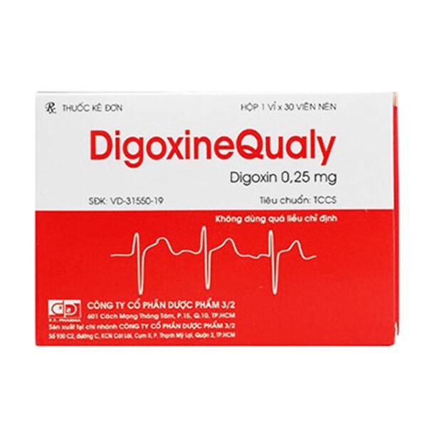 Digoxine Qualy Hộp 30 Viên - Điều Trị Bệnh Tim Mạch