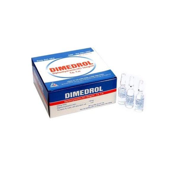 Dimedrol Hộp 100 Ống - Điều Trị Dị Ứng