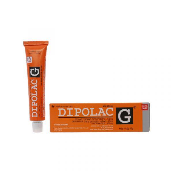 Dipolac G cream 15g - Thuốc điều trị nhiễm khuẩn da