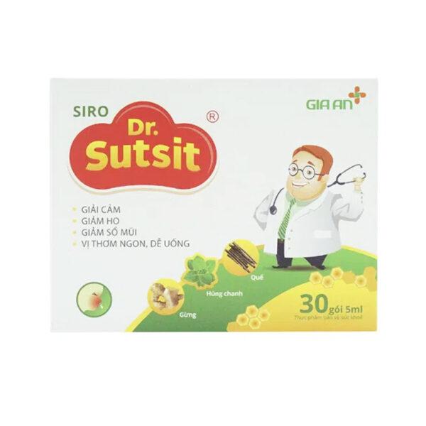 Dr. Sutsit Gia An Hộp 30 Gói - Siro Giảm Ho Hiệu Quả