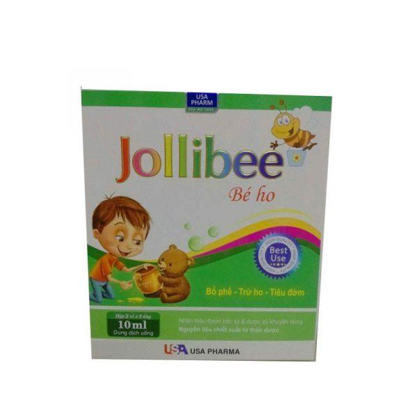 Jollibee Bé Ho - Hộp 10 Ống - Giúp Bổ Phế, Giảm Ho