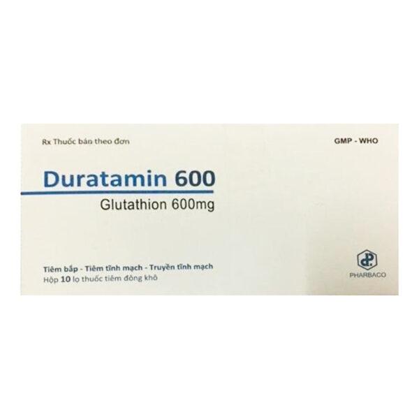 Duratamin 600 Hộp 10 Lọ - Hỗ Trợ Điều Trị Giảm Độc Tính