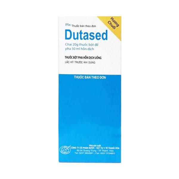 Dutased Chai 20mg pha 50ml - Điều trị nhiễm khuẩn
