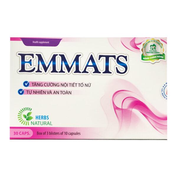 Emmats Hộp 30 viên - Bổ sung nội tiết tố nữ