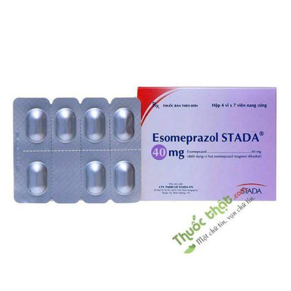 Esomeprazol Stada Hộp 28 Viên - Điều Trị Trào Ngược Dạ Dày