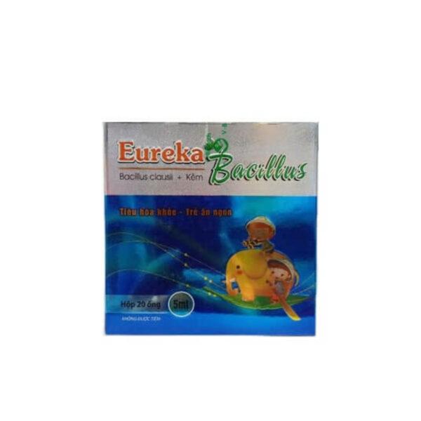 Eureka Bacillus Hộp 20 Ống - Tiêu Hóa Khỏe, Trẻ Ăn Ngon