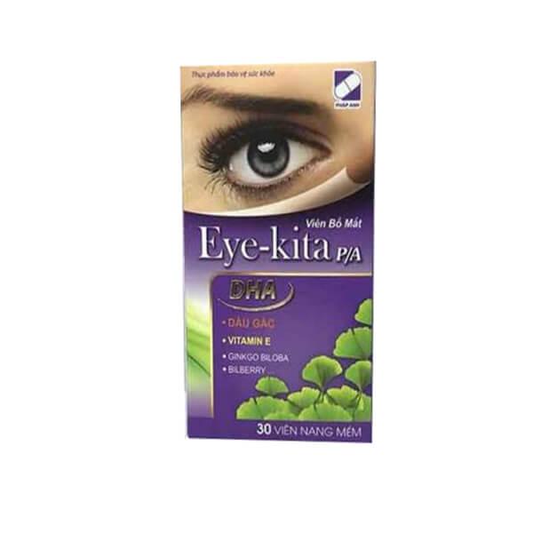 Thực phẩm bảo vệ sức khỏe Eye-kita PA 30 viên - Bổ mắt