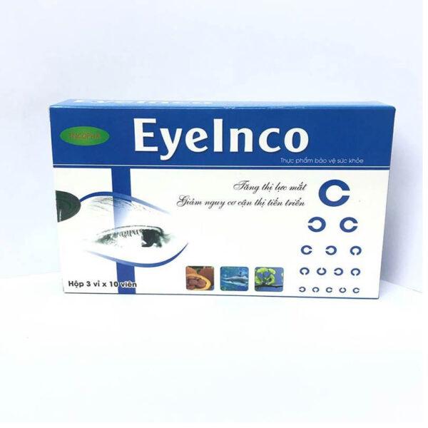 Eyelnco Hộp 30 Viên - Bổ Sung Dưỡng Chất Cho Mắt