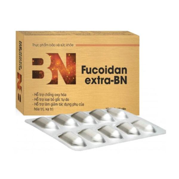 Fucoidan Extra BN Hộp 30 Viên - Chống Oxy Hóa