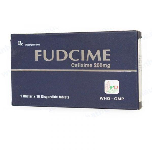 Thuốc Fudcime 200mg - Trị Nhiễm Khuẩn Đường Tiết Niệu