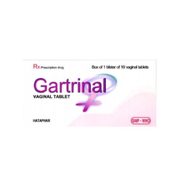 Gartrinal Hộp 10 Viên - Thuốc Đặt Âm Đạo