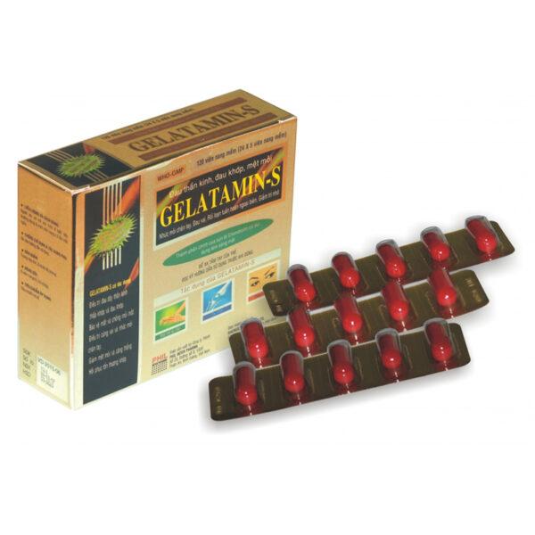 Gelatamins - Hộp 120 Viên - Cung Cấp Và Bổ Sung Khoáng Chất