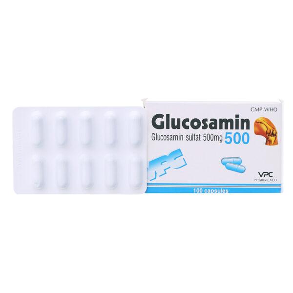 Glucosamin 500 Hộp 100 Viên - Điều Trị Thoái Hóa Khớp