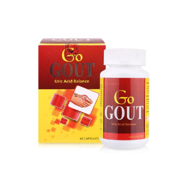 Go Gout Hộp 60 viên - Hỗ Trợ Điều Trị Bệnh Gout
