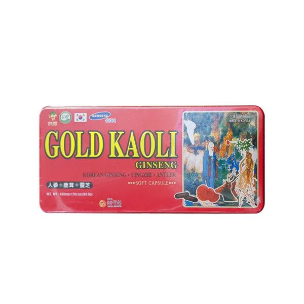 Gold Kaoli Ginseng Hộp 120 Viên - Giúp Hồi Phục Sức Khỏe
