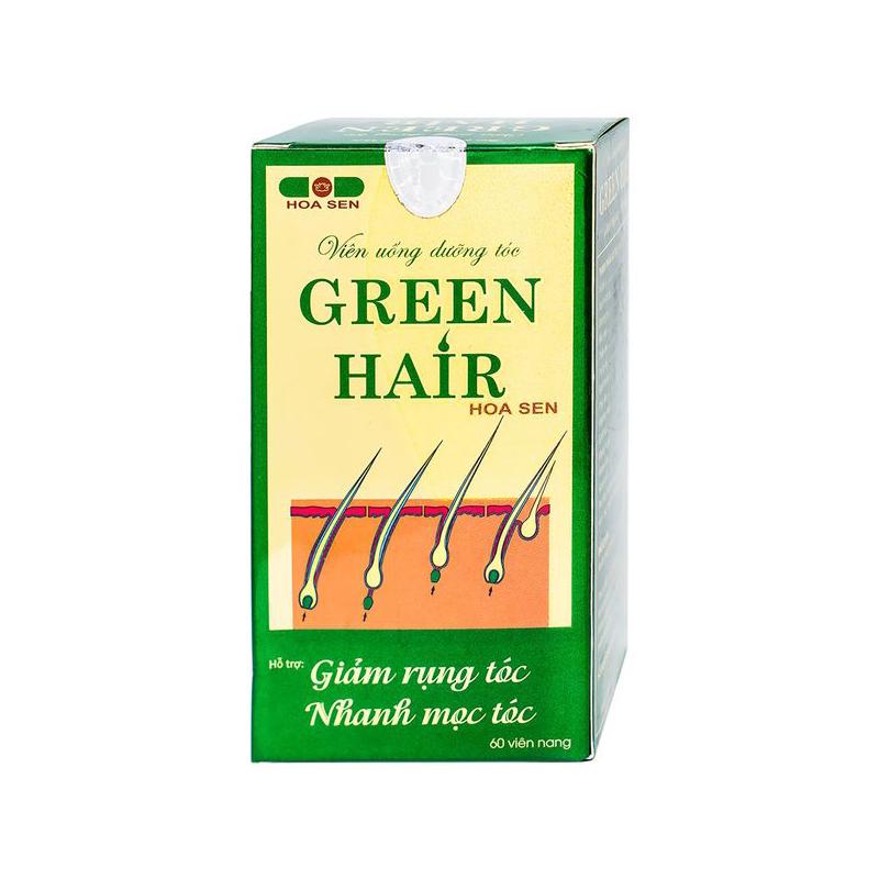 Green Hair Hộp 60 Viên