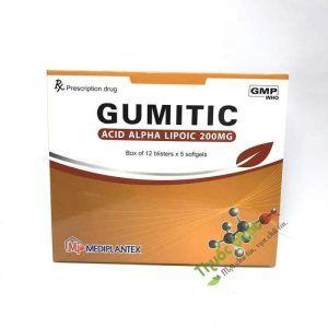 Thuốc Gumitic 200mg Hộp 60 Viên - Điều Trị Rối Loạn Cảm Giác