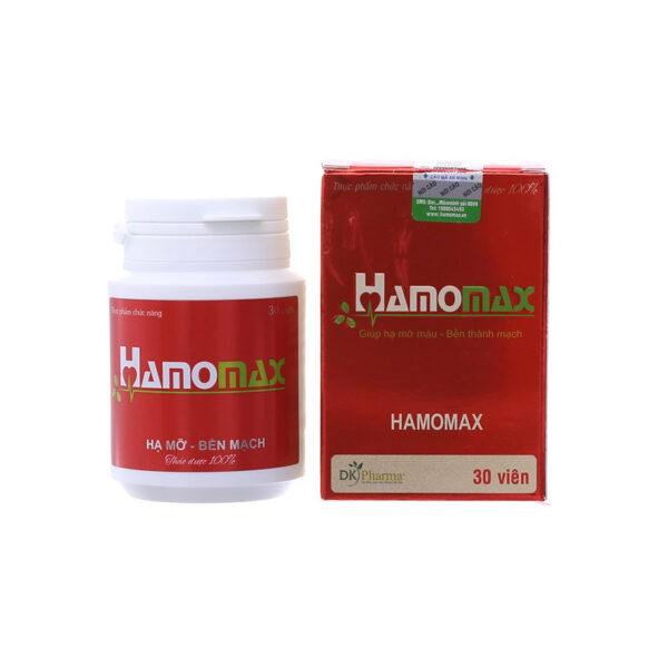 Hamomax 30 viên - giúp giảm mỡ trong máu