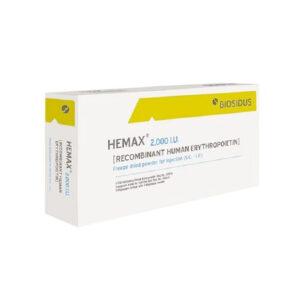 Hemax Hộp 1 Lọ + 1 Ống - Điều Trị Thiếu Máu
