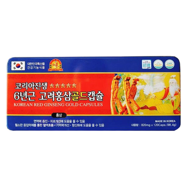 Hồng Sâm Nhung Hươu Linh Chi 120 Viên - Bồi Bổ Cơ Thể