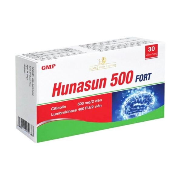 Hunasun 500Mg Hộp 30 Viên - Bổ Não, Bổ Thần Kinh
