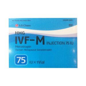 IVF - M 75 IU Hộp 1 Lọ 1 Ống - Kích Thích buồng Trứng Phụ Nữ