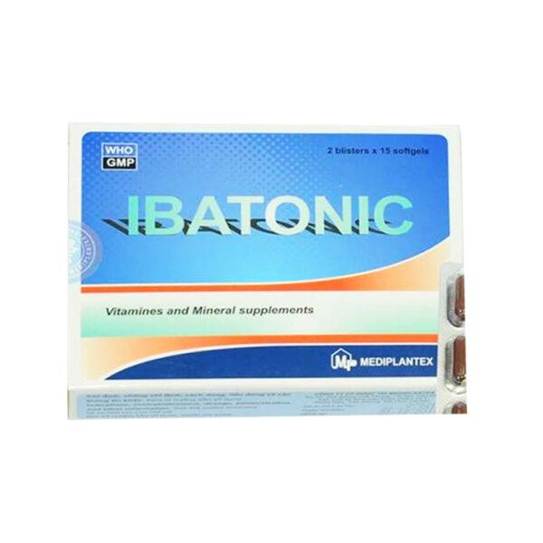 Ibatonic Hộp 100 Viên - Bổ sung vitamin và khoáng chất
