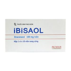 Ibisaol Hộp 10 viên - Điều trị nhiễm nấm