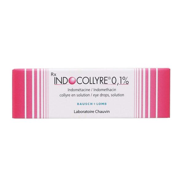 Indocollyre 0,1% Lọ 5ml - Ngừa Viêm Sau Phẫu Thuật