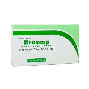 Itraxcop100mg Hộp 30 viên - Điều trị nhiễm khuẩn
