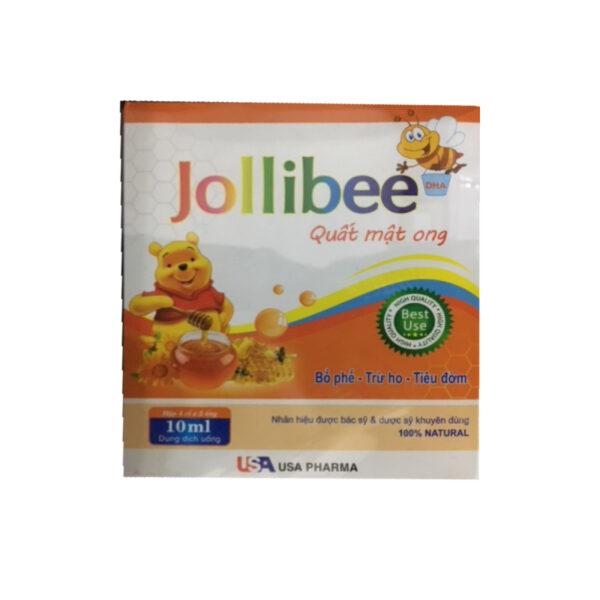 Jollibee Quất Mật Ong - Hộp 20 Ống - Giúp Bổ Phế, Trừ Ho