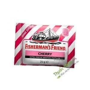 Kẹo Cay Con Tàu Không Đường Fisherman's Friend Cherry