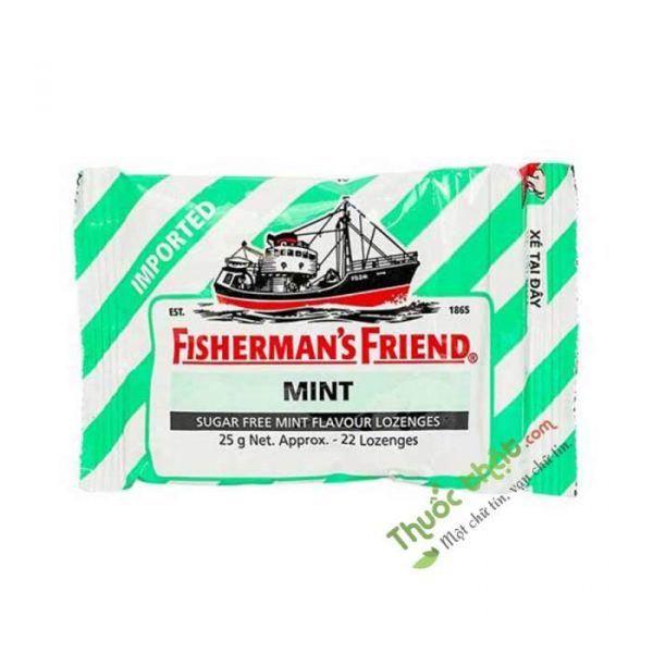 Friend Mint Gói  25G - Kẹo Cay Con Tàu Không Đường