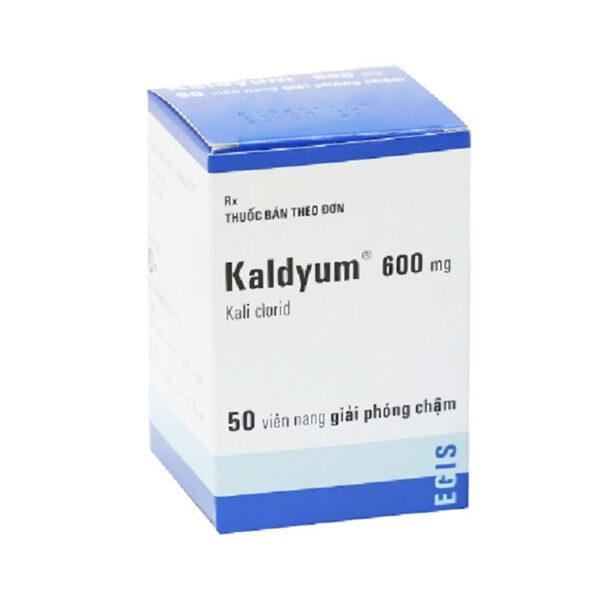 Kaldyum 600mg Hộp 50 Viên - Bổ Sung Kali