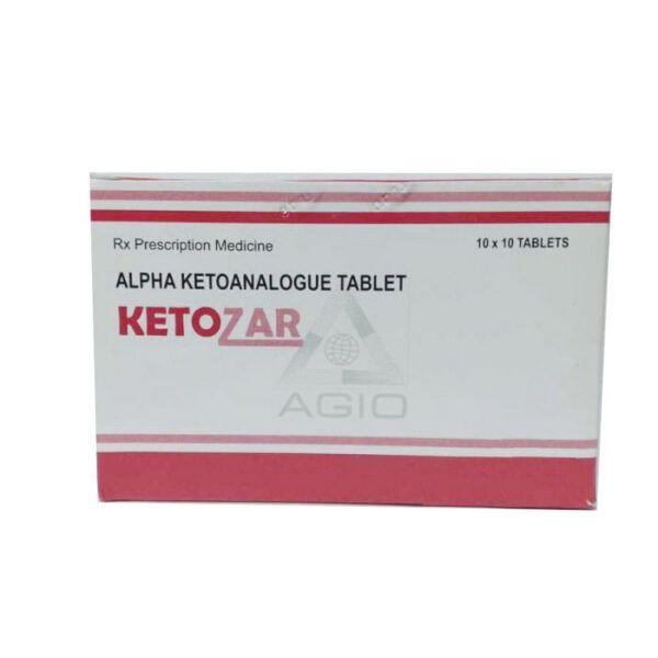 Thuốc Ketozar - Hộp 100 Viên - Điều Trị Rối Loạn Chuyển Hóa