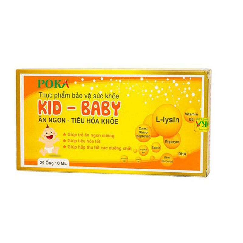 Kid baby 20 ống