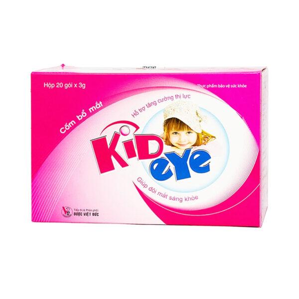Kideye Visgerpharm Hộp 20 Gói - Cốm Bổ Mắt, Sáng Mắt