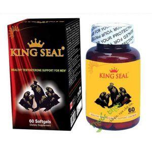 King Seal - Giúp hỗ trợ điều trị yếu sinh lý - Hộp 1 lọ 60 viên