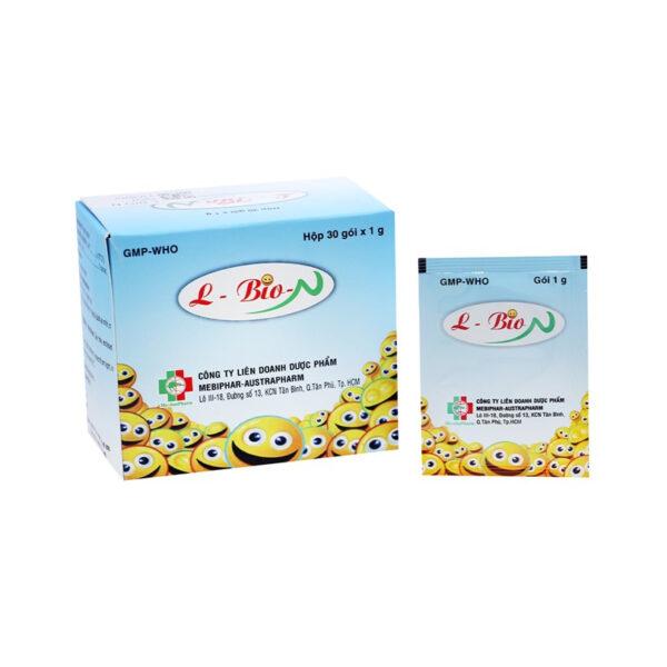 L-Bio-N - Giúp cân bằng hệ vi khuẩn đường ruột - Hộp 10 gói
