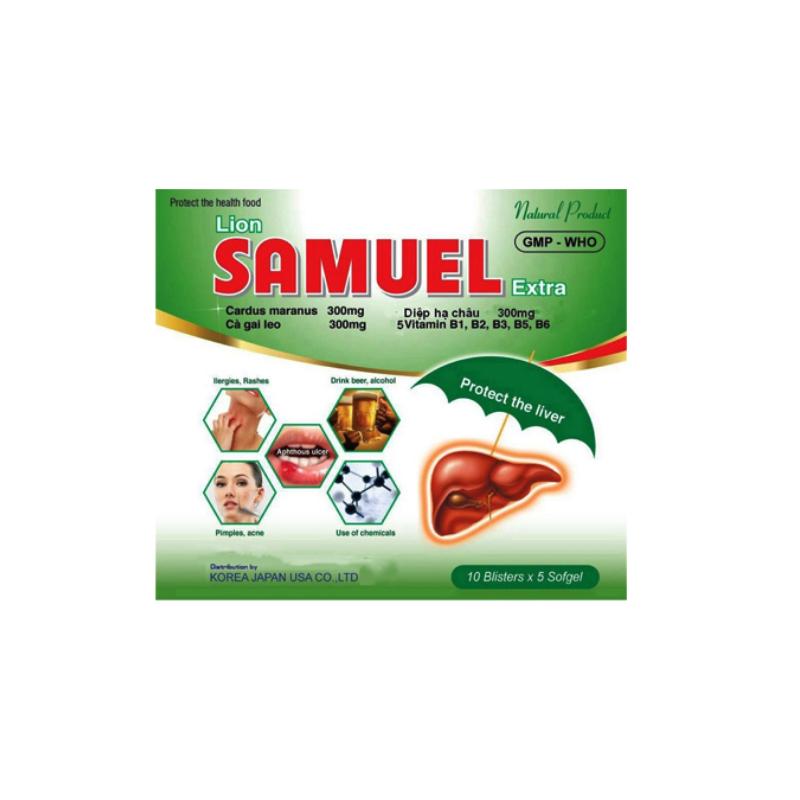 Lion Samuel Extra Hộp 50 Viên