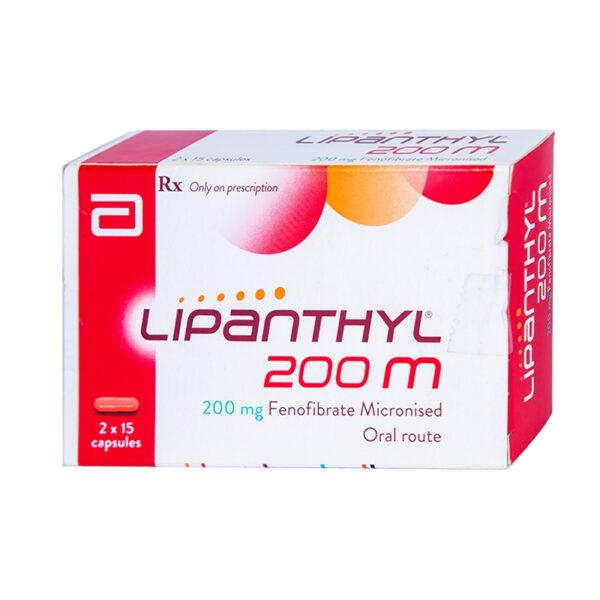 Thuốc Lipanthyl 200mg - Hộp 30 Viên - Điều Trị Tăng Mỡ Máu