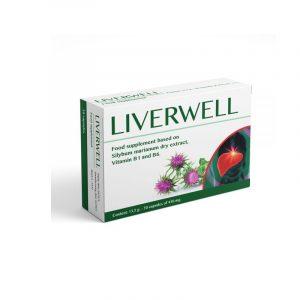 Liverwell Hộp 30 Viên - Thanh nhiệt, mát gan